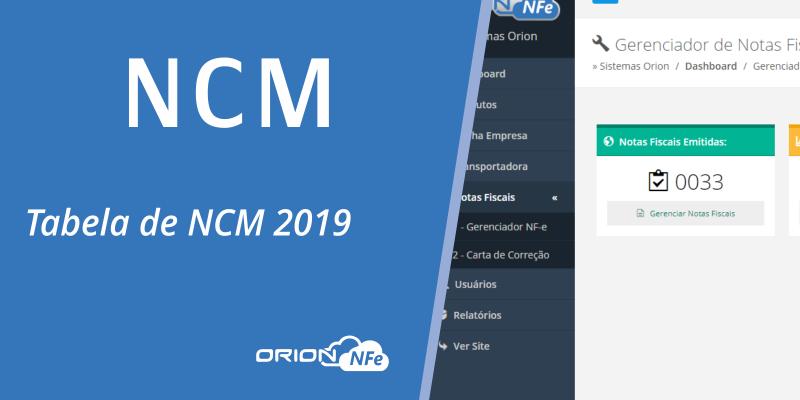Tabela NCM 2019: Novos códigos a partir de Janeiro